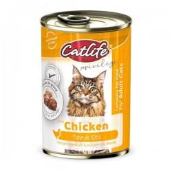 Catlife Tavuklu Yetişkin Kedi Konservesi 400gr