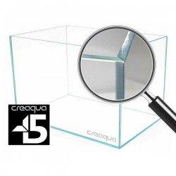Creaqua 40x40x30Cm 45 Derece Açılı Ultra Extra Clear Cama Cam Akvaryum