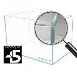 Creaqua 50x30x30Cm 45 Derece Açılı Full Extra Clear Cama Cam Akvaryum