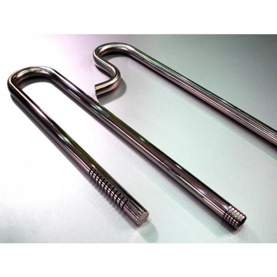 Creaqua Chrome Pipe Paslanmaz Çelik MAT 16-22mm