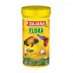 Dajana Flora Garlic Spirulina Cichlid Flakes 250 ml 50 Gr