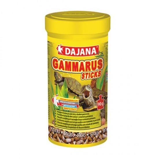 Dajana Gammarus Sticks 1000 ml 375 Gr - Kaplumbağa Yemi