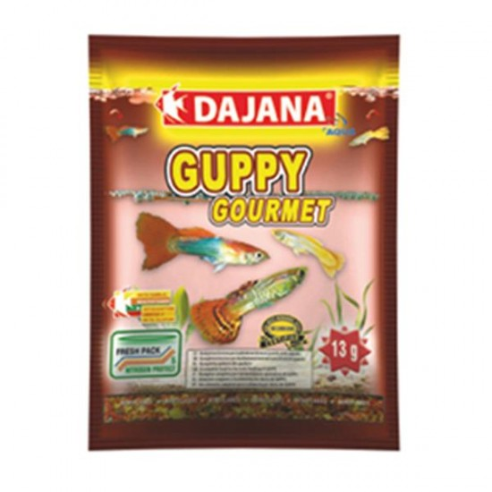 Dajana Guppy Gourmet Flakes 80 ml 13 Gr