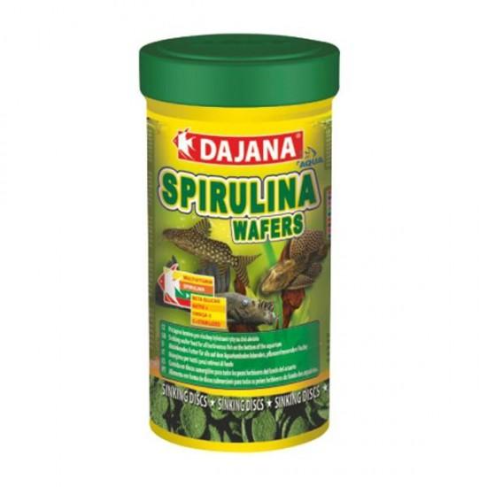 Dajana Mini Spirulina Wafers 250 ml - Vatoz ve Çöpçü Balığı Yemi