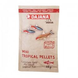 Dajana Mini Tropical Pellets 15 Gr