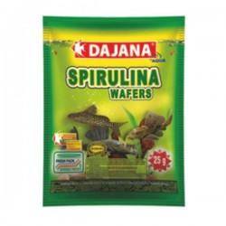 Dajana Spirulina Wafers Yem 80 ml 25 Gr - Vatoz ve Çöpçü Balığı Yemi