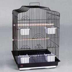 Dayang 607 Papağan Kafesi Siyah 47x36x68cm