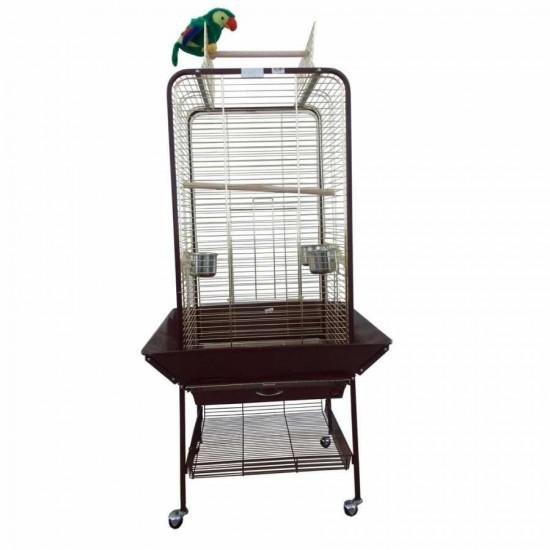 Dayang A16 Ayaklı Papağan Eğitim Kafesi 59x59x152cm