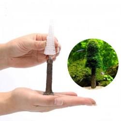 Dekor Moss Sarmak İçin Ağaç Gövdesi