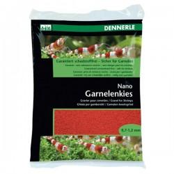 Dennerle Nano Gravel For Shrimps İndisch Red 0.7-1.2mm 2Kg