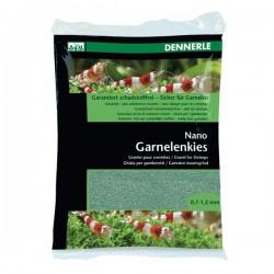 Dennerle Nano Gravel For Shrimps Java Green 0.7-1.2mm 2Kg