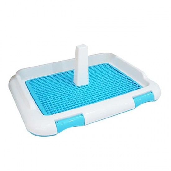 Dill Köpek Tuvalet Eğitim Seti 46,5x36x22Cm Mavi