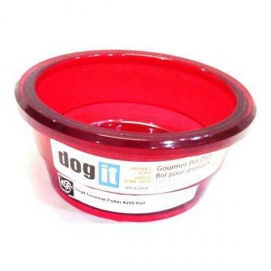 Dogit Köpek Mama Kabı Kırmızı 1500ml