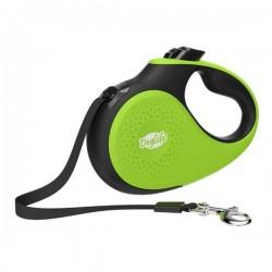 Doglife Expert Şerit Tipi Otomatik Gezdirme Tasması 5M 25Kg Yeşil
