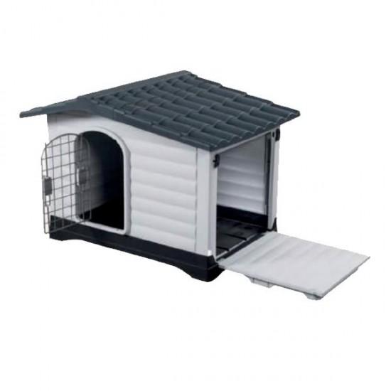 Doglife Villa 69 Plastik Köpek Kulübesi Kapılı 69x91x66 Cm