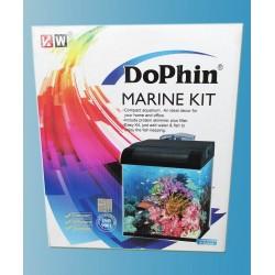Dophin Deniz Akvaryum Seti Bombeli Siyah 32x30x36 Cm