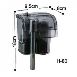 Dophin H80 Askılı Şelale Akvaryum Filtresi 190 L/S 2.7W