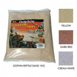 Dophin Sürüngen Kumu Beyaz 1Kg