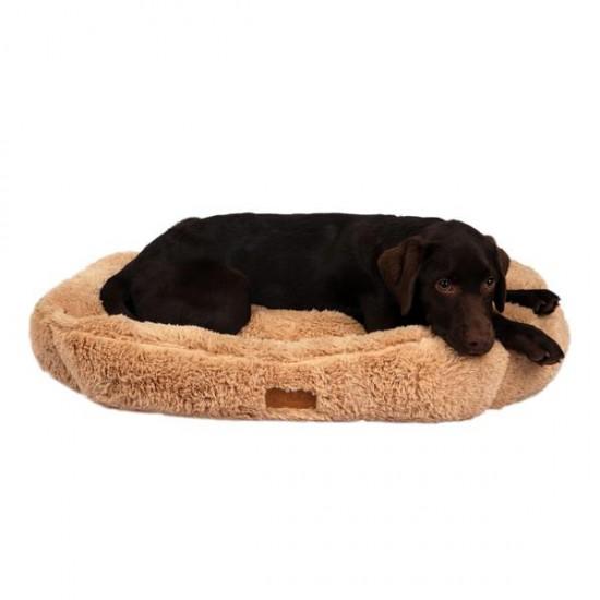 Dubex Brownie Dikdörtgen Kedi Köpek Yatağı Camel L