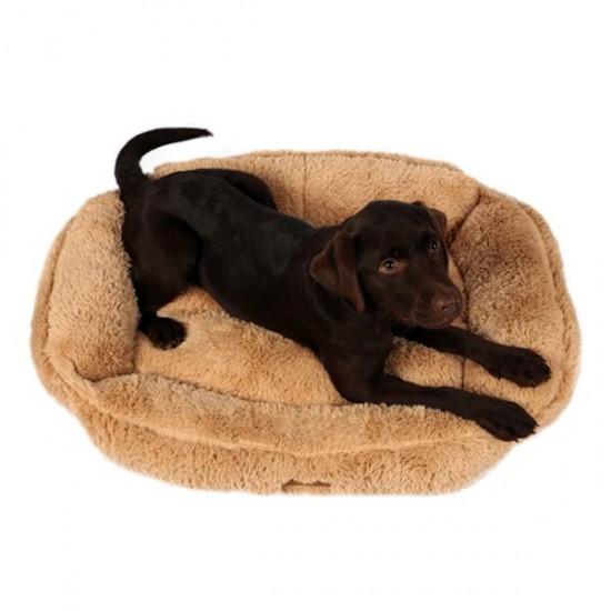 Dubex Brownie Dikdörtgen Kedi Köpek Yatağı Camel XL