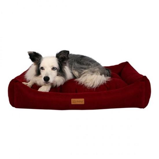 Dubex Cookie Kedi Köpek Yatağı Bordo S