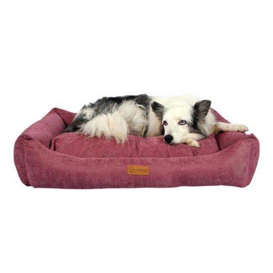 Dubex Cookie Kedi Köpek Yatağı Gül Kurusu S