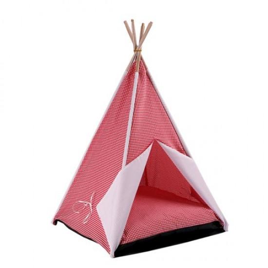 Dubex Kedi Köpek Çadırı Kırmızı
