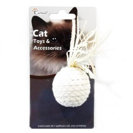 Eastland Düğümlü İp Kedi Oyuncağı 4,5Cm