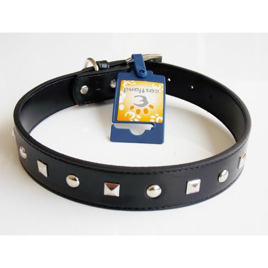 Eastland Metal İşlemeli Deri Köpek Tasması 60Cm