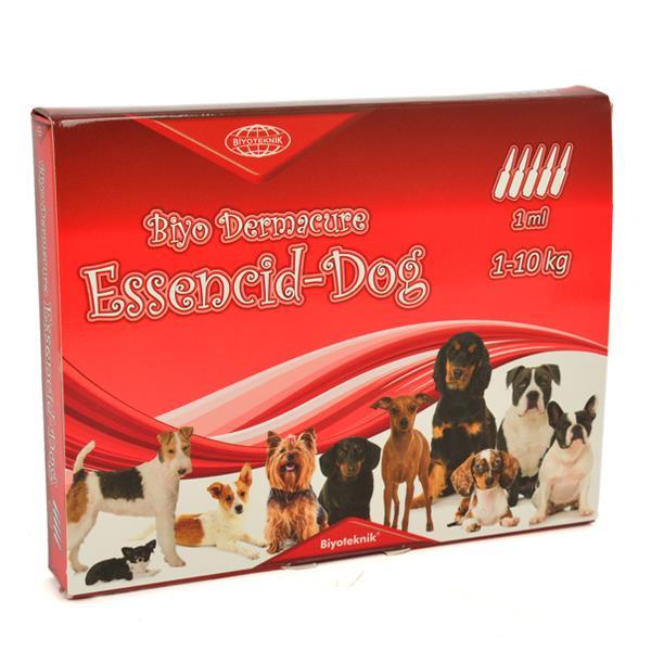 Essencid-Dog Köpekler İçin Ense Damlası 1-10 Kg 1 ml x 5 Adet