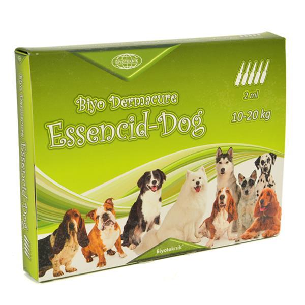 Essencid-Dog Köpekler İçin Ense Damlası 10-20 Kg 2 ml x 5 Adet