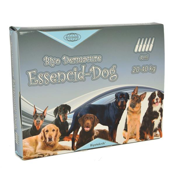 Essencid-Dog Köpekler İçin Ense Damlası 20-40 Kg 4 ml x 5 Adet