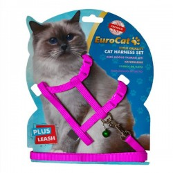 Eurocat Kedi Göğüs Tasması Pembe