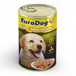 Eurodog Yavru Köpek Konservesi Tavuklu 415gr