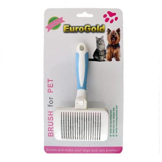 Eurogold Kendini Temizleyen Kedi Köpek Fırçası