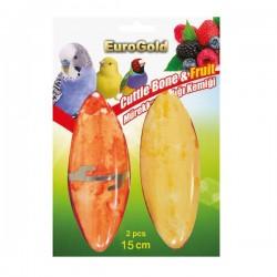 Eurogold Mürekkep Balığı Kemiği Meyve Aromalı 2li 15Cm