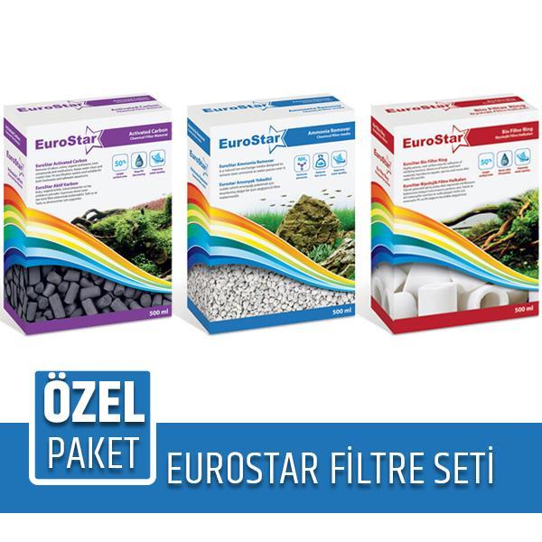 Eurostar Filtre Malzemesi Seti Karbon Seramik Zeolite