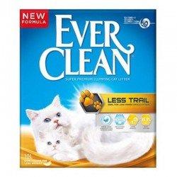 Ever Clean Less Trail - Patilere Yapışmayan Kedi Kumu 10 Lt 2'li Paket