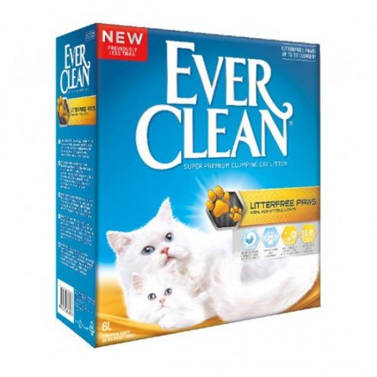 Ever Clean Litter Free Paws Patilere Yapışmayan Kedi Kumu 6 Lt