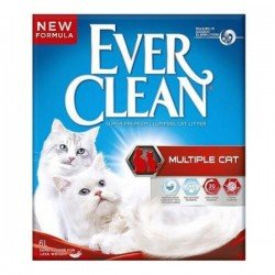 Ever Clean Multiple Cat Topaklasan Kedi Kumu 6Lt
