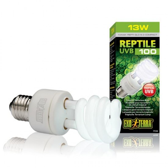 Exo Terra Reptile UVB 100 13W