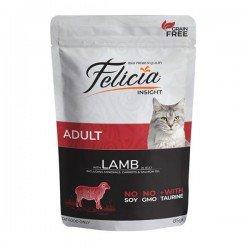 Felicia Adult Kuzulu Yaş Yetişkin Kedi Maması 85gr x 2 Adet
