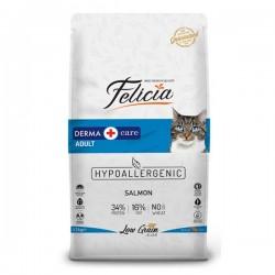 Felicia Az Tahıllı Somonlu Yetişkin Kedi Maması 12 Kg