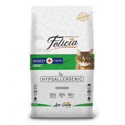 Felicia Az Tahıllı Tavuklu Yetişkin Kedi Maması 12 Kg