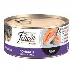 Felicia Fileto Somonlu Tahılsız Kısırlaştırılmış Kedi Konservesi 85gr