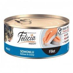 Felicia Fileto Somonlu Tahılsız Yetişkin Kedi Konservesi 85gr