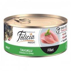 Felicia Fileto Tavuklu Tahılsız Yetişkin Kedi Konservesi 85gr