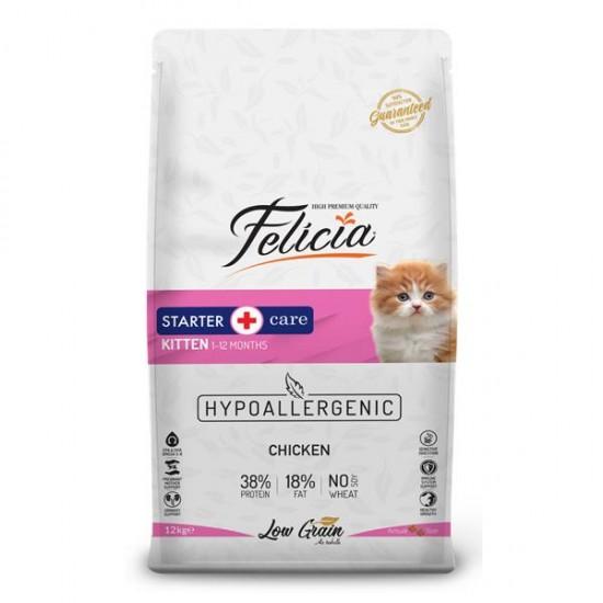 Felicia Az Tahıllı Tavuklu Yavru Kedi Maması 12 Kg