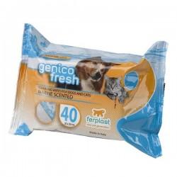 Ferplast Genico Fresh Kedi Köpek Temizlik Mendili Marine Kokulu