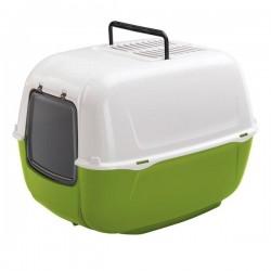 Ferplast Home Prima Kapalı Kedi Tuvaleti Yeşil
